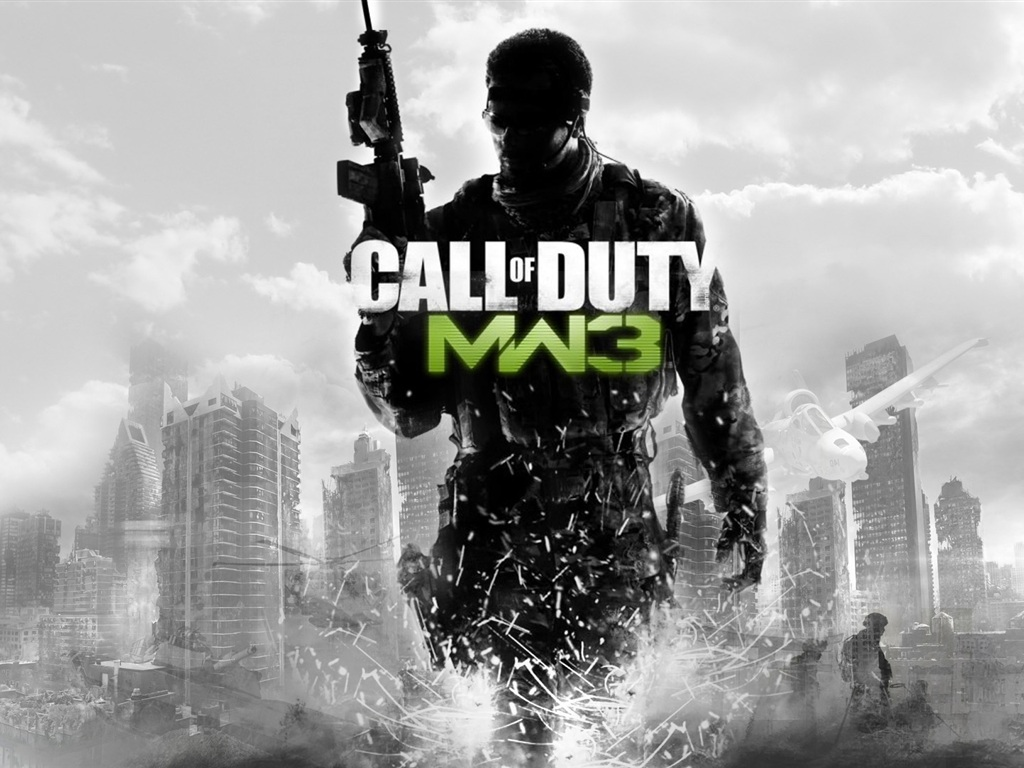 Call of duty: mw3 fonds d'écran - 1024x768