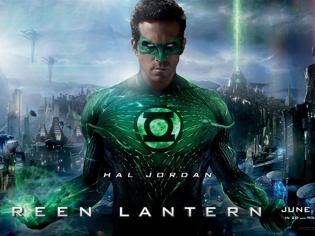 Ryan Reynolds in Green Lantern wallpaper - 1024x768