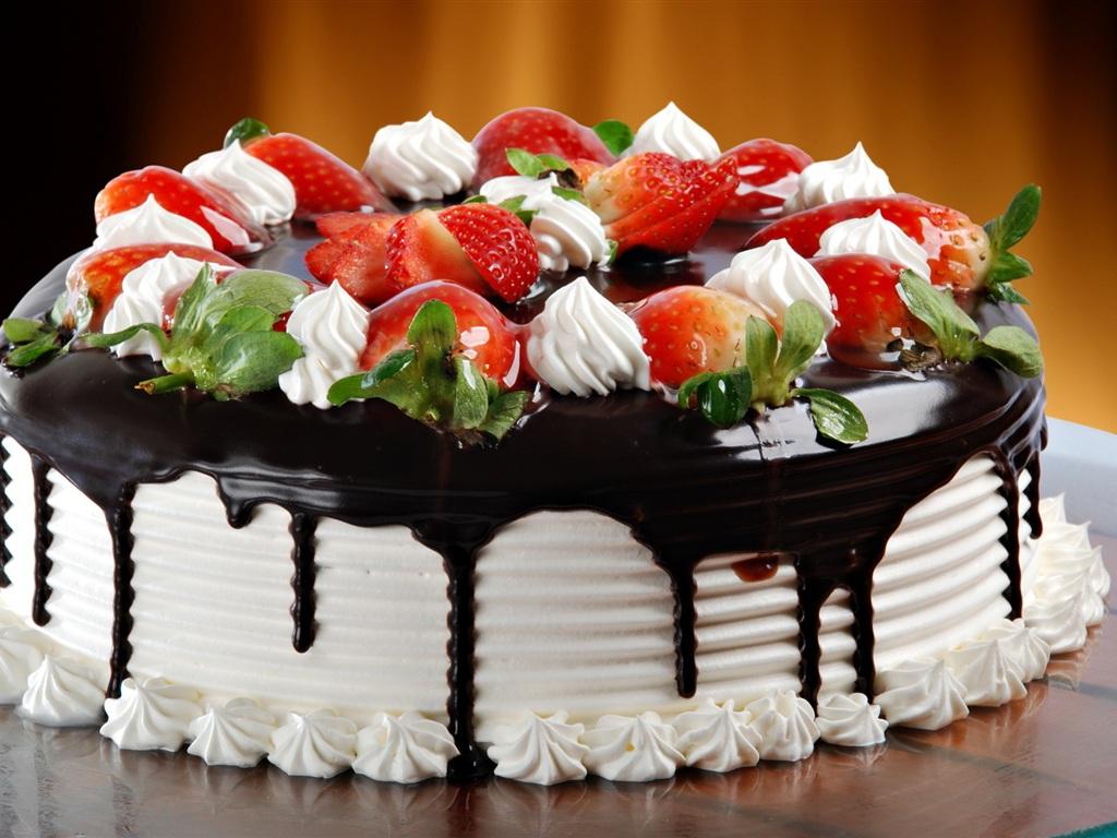 chocolate cream cake wallpaper 1024x768 resolution