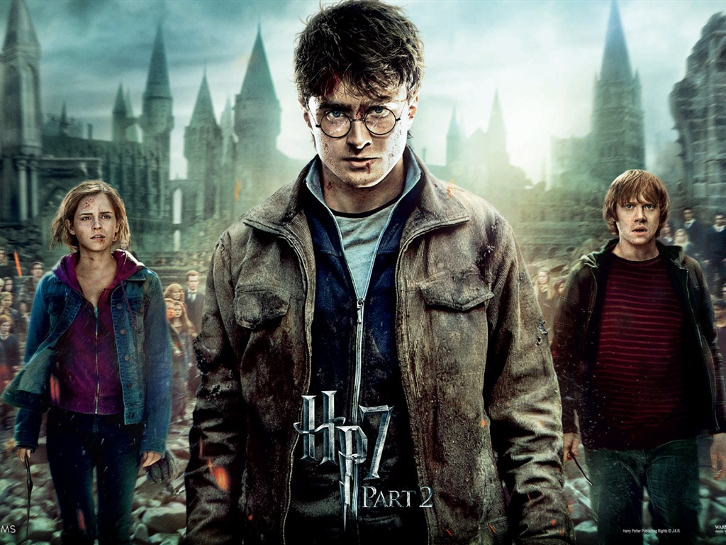 HP7 Part 2 Hero wallpaper - 1024x768