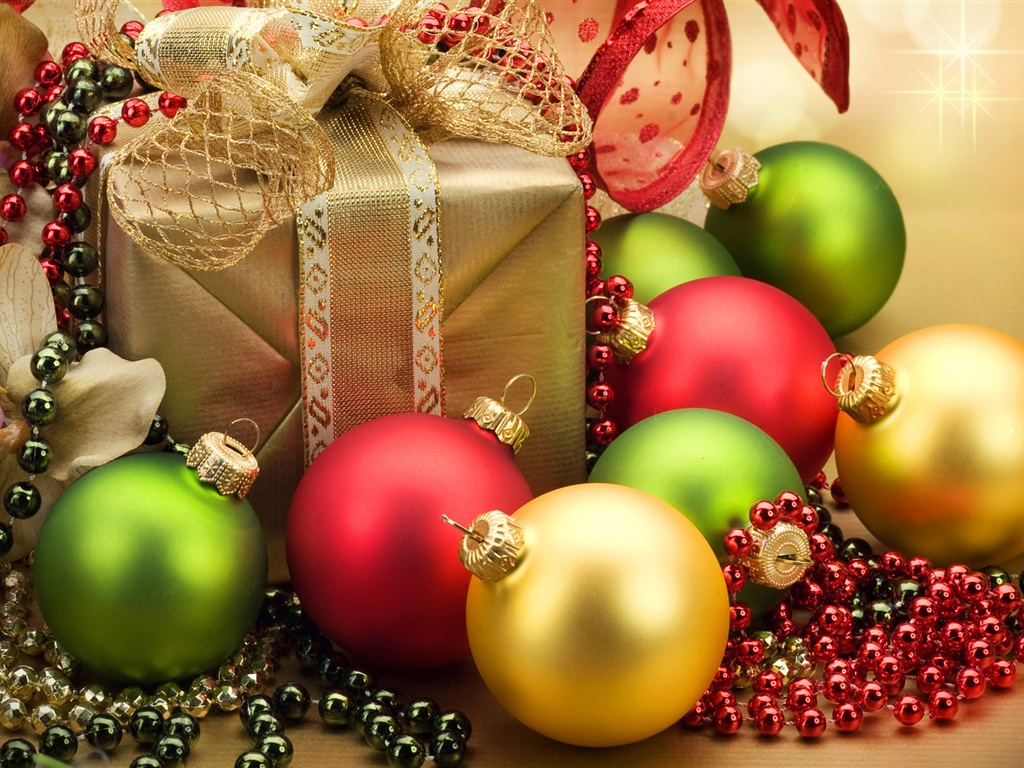 Download wallpaper christmas ornaments and