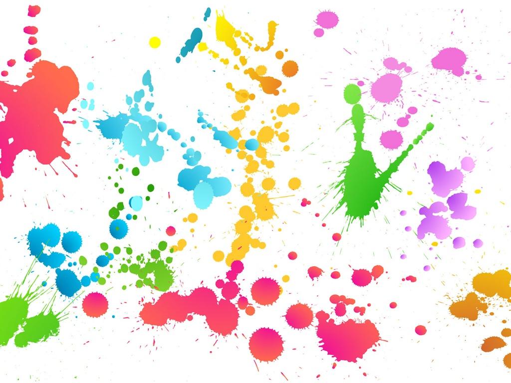 La pintura abstracta de colores pintadas fondos pantalla - Colore de pintura ...