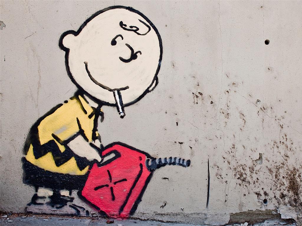 Banksy Charlie Brown