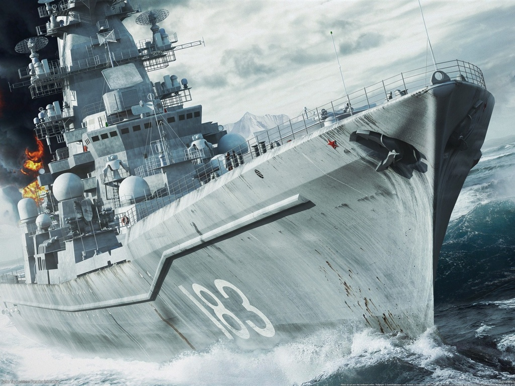 海軍戦争:北極圏 壁紙 - 1024x768   海軍戦争:北極圏 壁紙