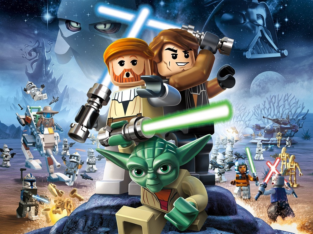 Wallpaper Lego Star Wars Iii The Clone Wars 1920x1200 Hd Picture Image