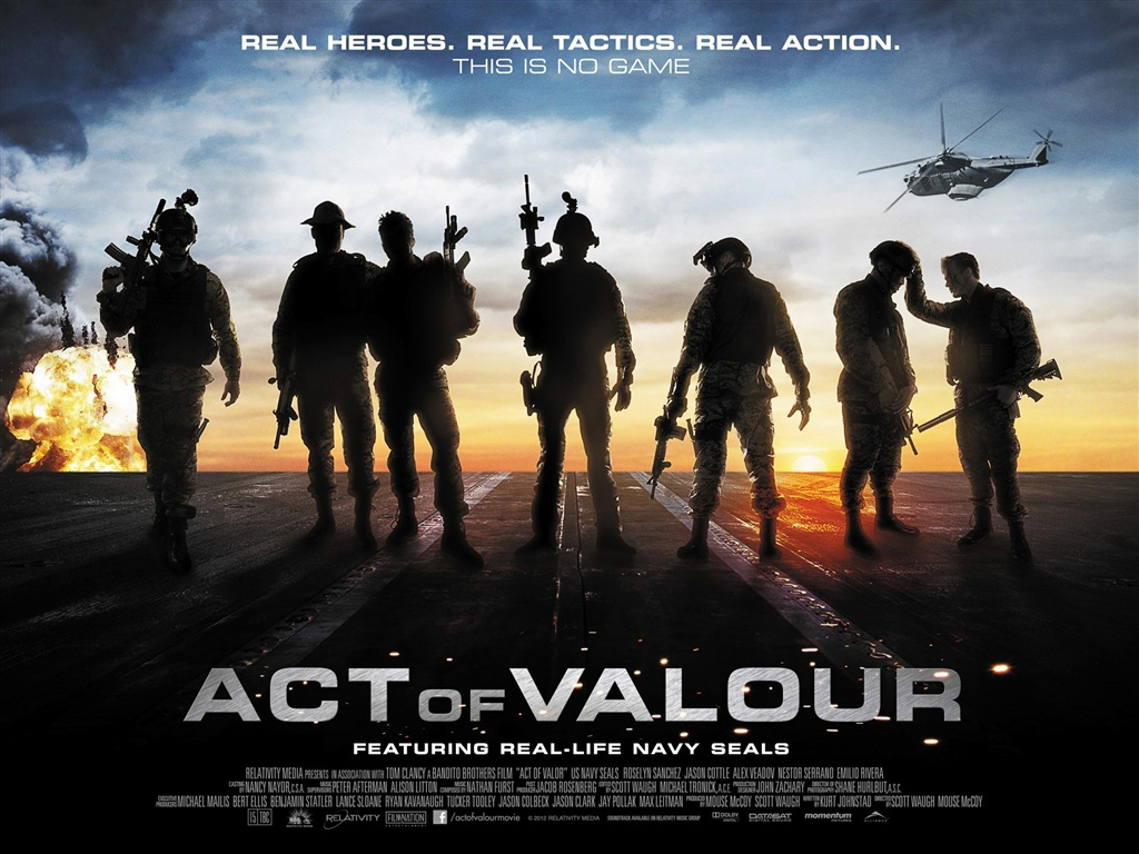 Download Wallpaper 1024x768 Act of Valor HD Background