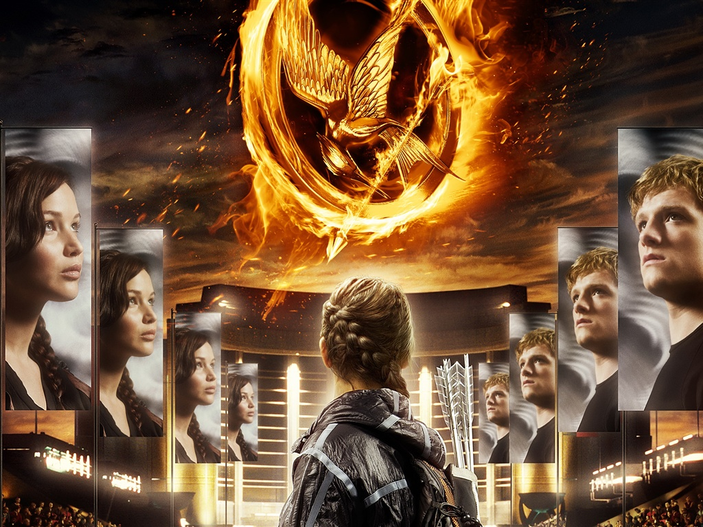 The Hunger Games 2012 wallpaper - 1024x768