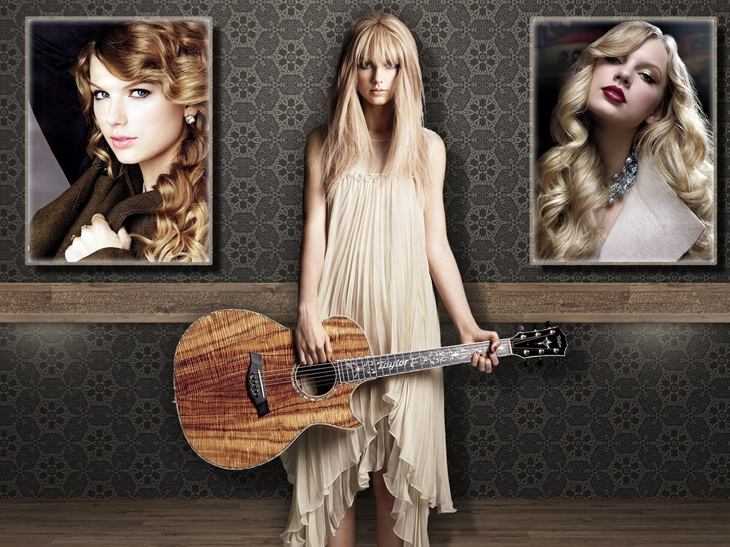 Taylor Swift 06 wallpaper - 1024x768
