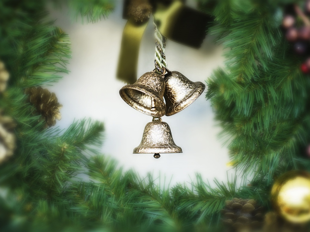 The small bells of the festival wallpaper - 1024x768