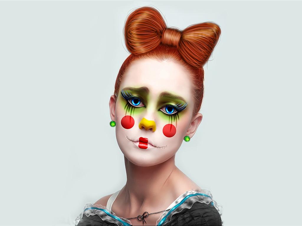 for Clown schminktipps