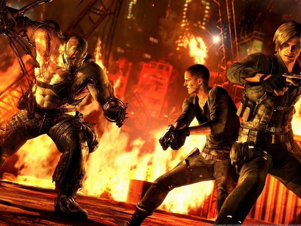 210 The Last Of Us Papéis De Parede Hd: Papéis De Parede Resident Evil 6 Jogo XBOX 1920x1080 Full