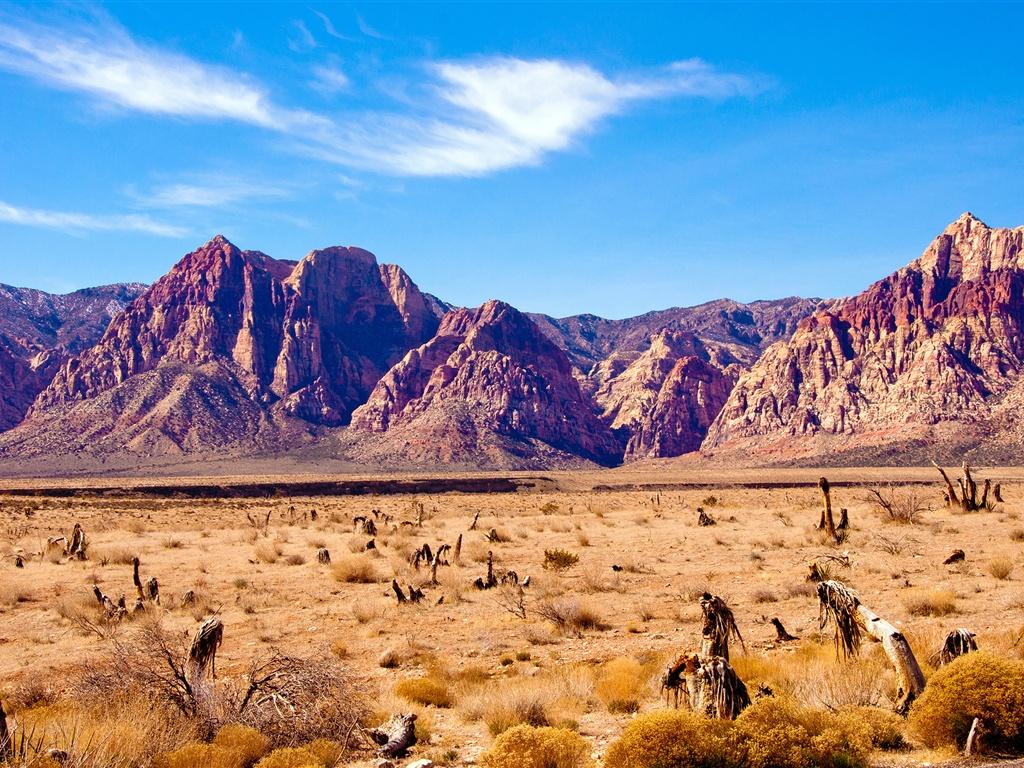 Montaña Nevada 1024x768: Fondos De Pantalla Desierto De Nevada, Las Montañas Rocas