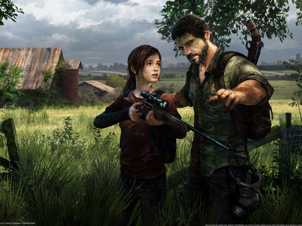 210 The Last Of Us Papéis De Parede Hd: Papéis De Parede O Último Dos EUA HD 1920x1080 Full HD 2K