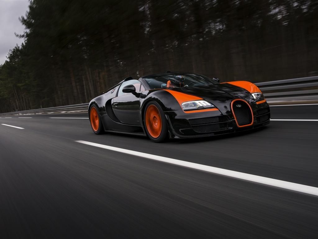 Bugatti Veyron Grand Sport Vitesse Roadster Hintergrundbilder ...