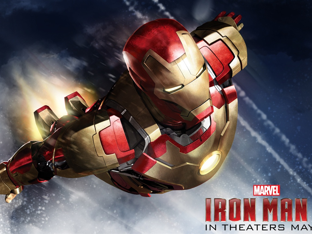 Wallpaper Iron Man 3 2013 Movie HD 1920x1200 Picture Image