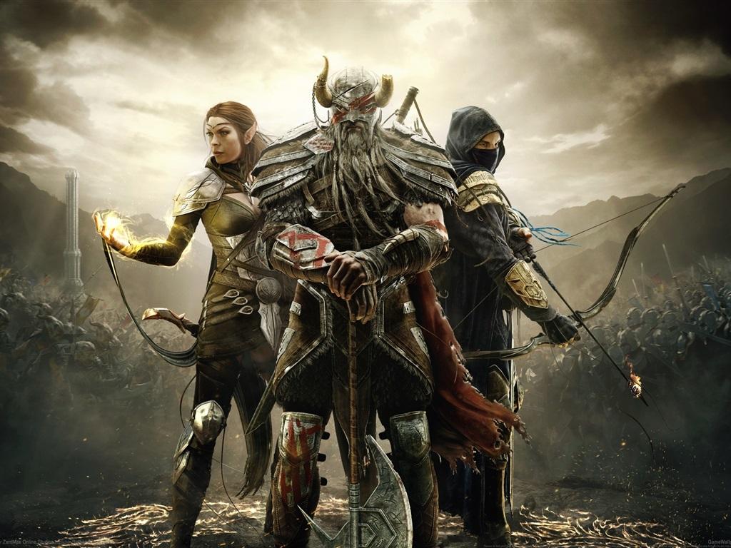 Wallpaper The Elder Scrolls Online HD 2560x1600 HD Picture