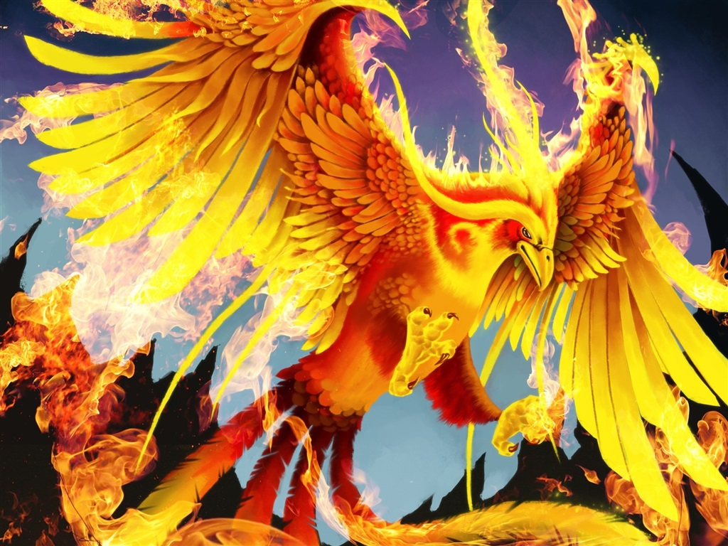 птичка феникс картинки ходе проверки показаний