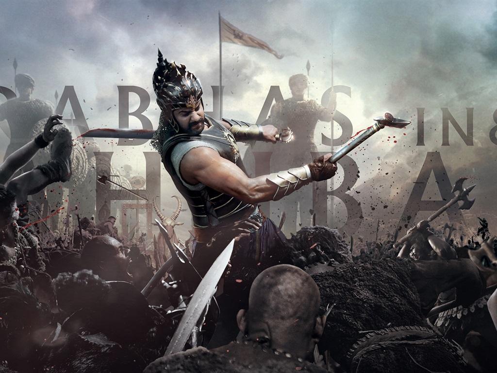 Wallpaper Baahubali: The Beginning, India 2015 Movie
