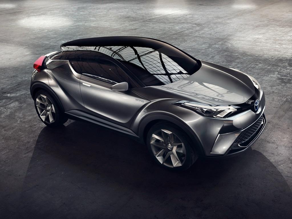 Fonds d 39 cran 2015 toyota c hr hybrid concept haut de voiture vue 2560x1600 hd image - Voiture vue de haut ...