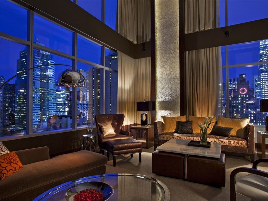 #1E36AD Interior sofá janelas sala de estar Papéis de Parede 1024x768  1460 Tamanho Padrão Janela Sala