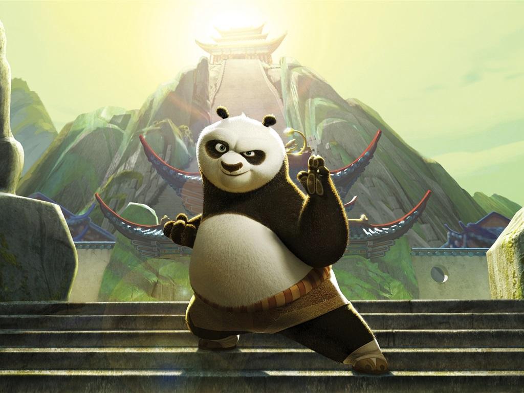 Download Wallpaper 1024x768 Po in Kung Fu Panda 3 HD ...