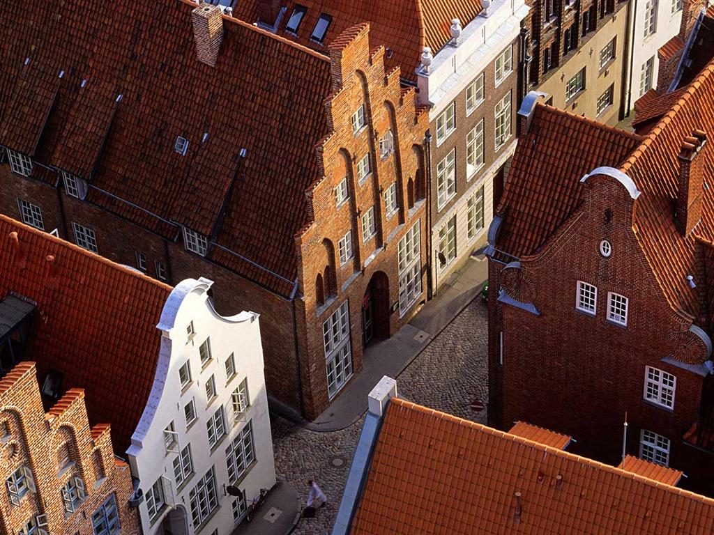 Обои любек, германия, здания, дома. Города foto 7