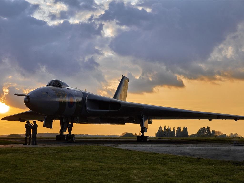 Обои Vulcan, Самолёт, bomber. Авиация foto 17