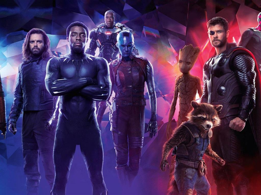 Wallpaper Avengers Infinity War Superheroes 3840x2160 Uhd 4k