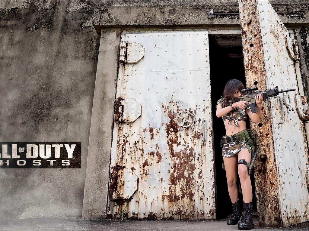 Fondos de pantalla call of duty fantasmas ni a arma for Puerta wallpaper hd