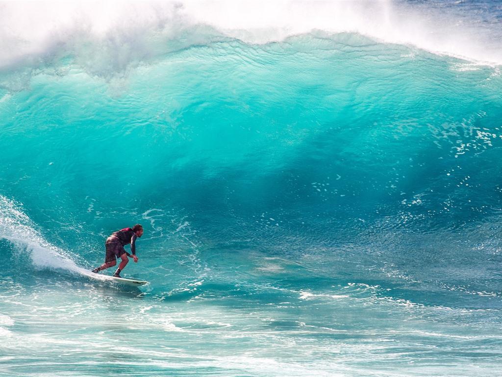 壁紙 サーフィン 海 波 水しぶき 3840x2160 Uhd 4k 無料の
