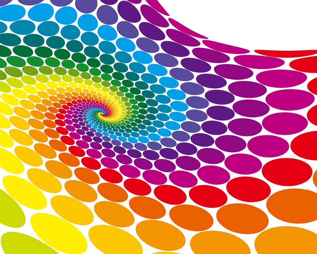 colorful vector circle wallpaper 1280x1024 resolution wallpa