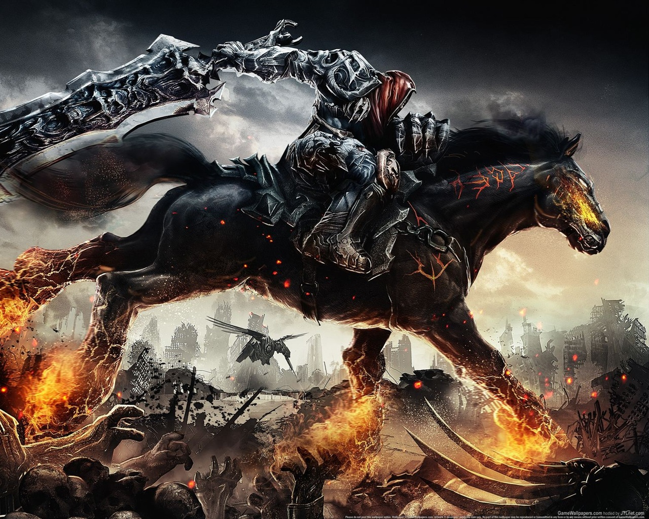 Darksiders Wrath of War wallpaper - 1280x1024