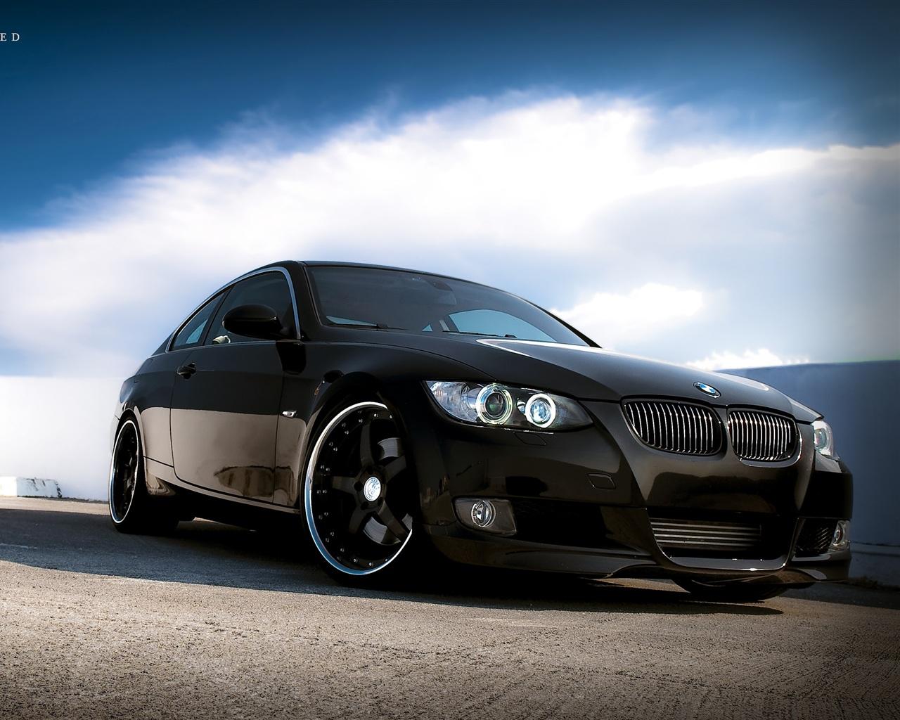 壁紙 BMW車のブラックカラー 2560x1600 HD 無料のデスクトップの背景, 画像
