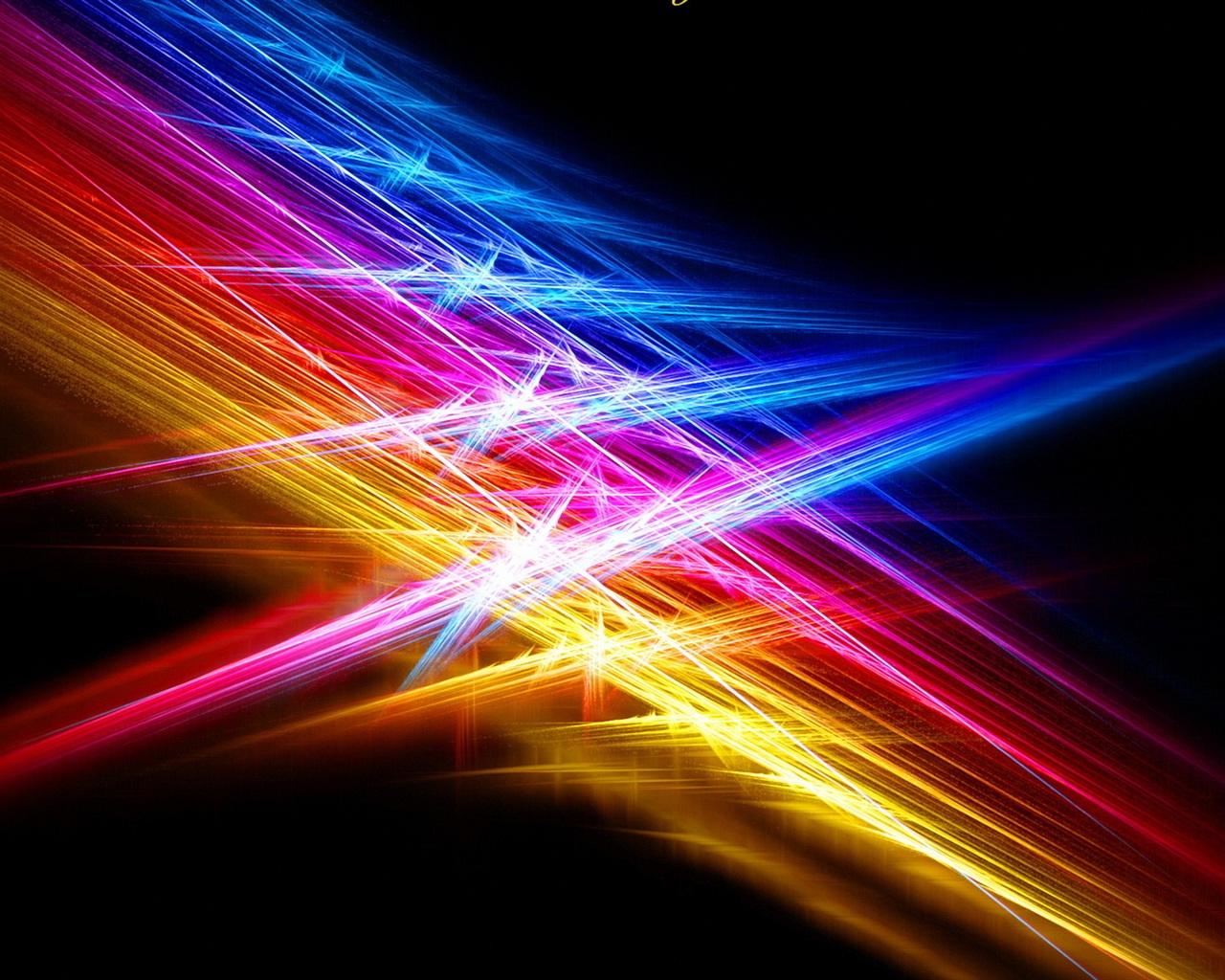 Line Color Light Beams Wallpaper 1280x1024 Resolution