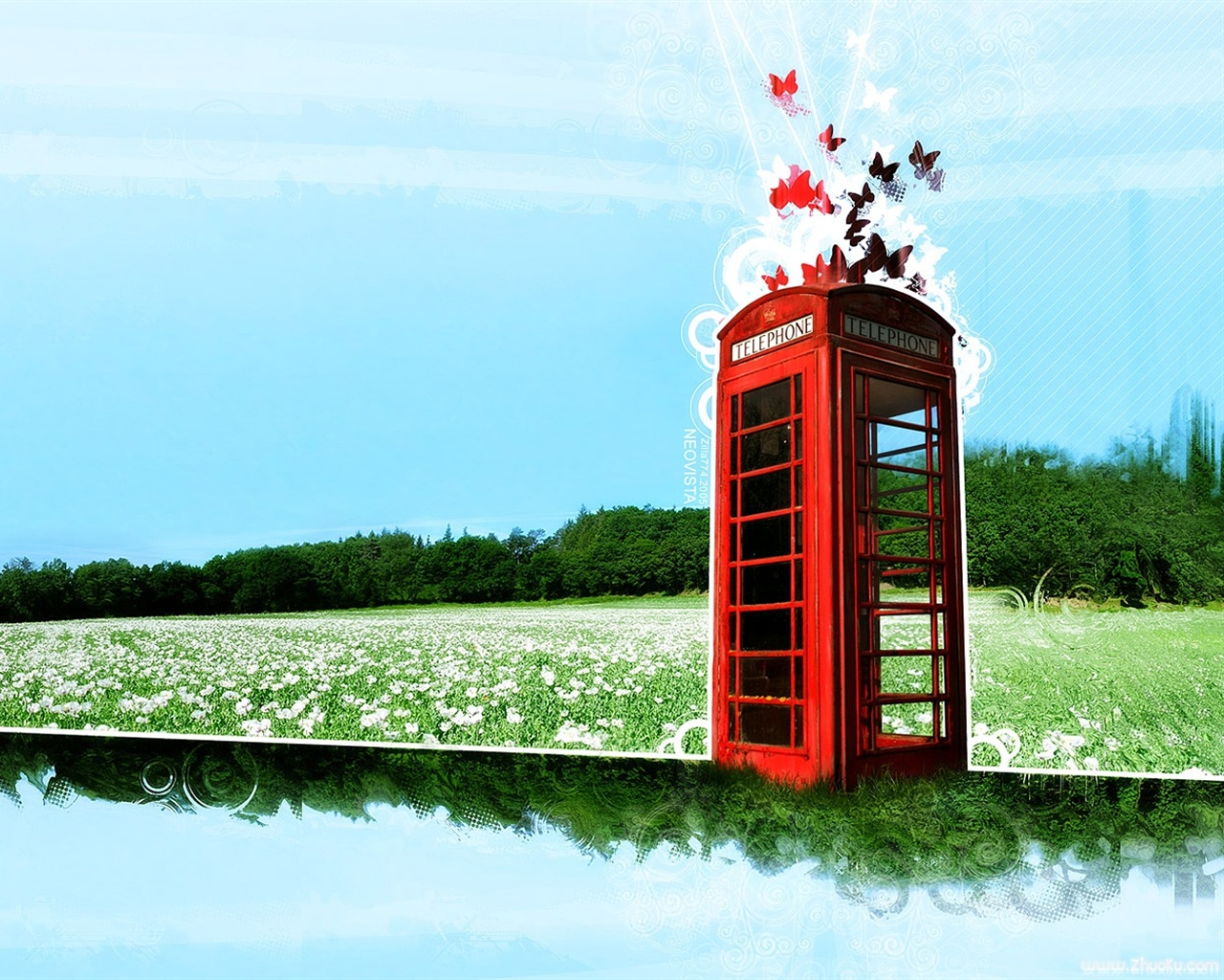 phone booth wallpaper - photo #18