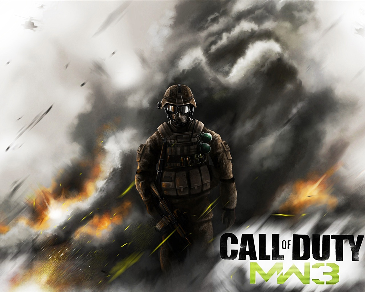 PC Call of Duty: Modern Warfare 3 Fonds d'écran | 1280x1024 Fonds d ...