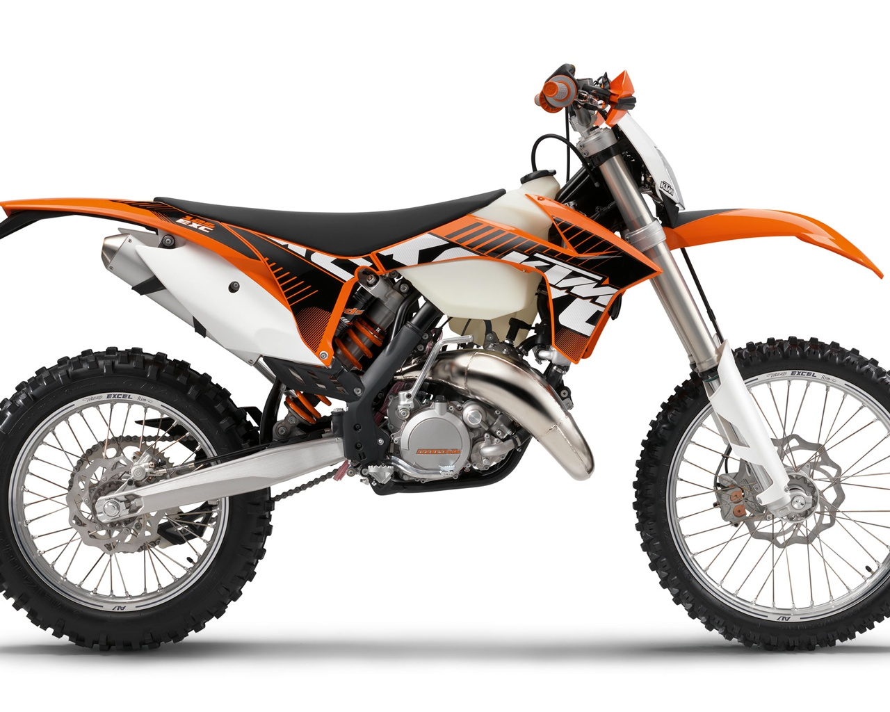 download wallpaper 1280x1024 ktm offroad 125 exc motorcycle 2012 hd background. Black Bedroom Furniture Sets. Home Design Ideas