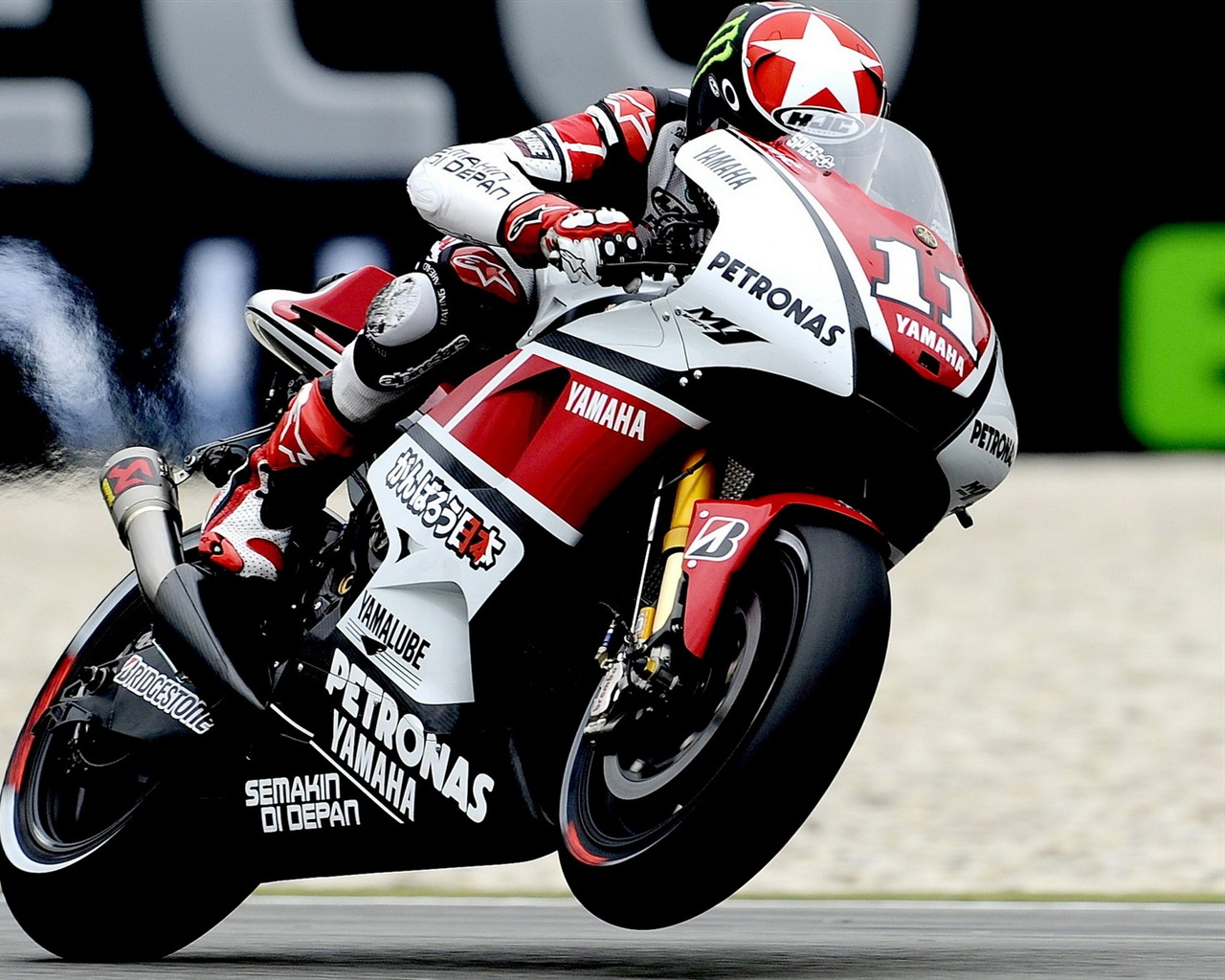 Wallpaper Yamaha Motorcycle Racing 1920x1200 Hd Picture Image