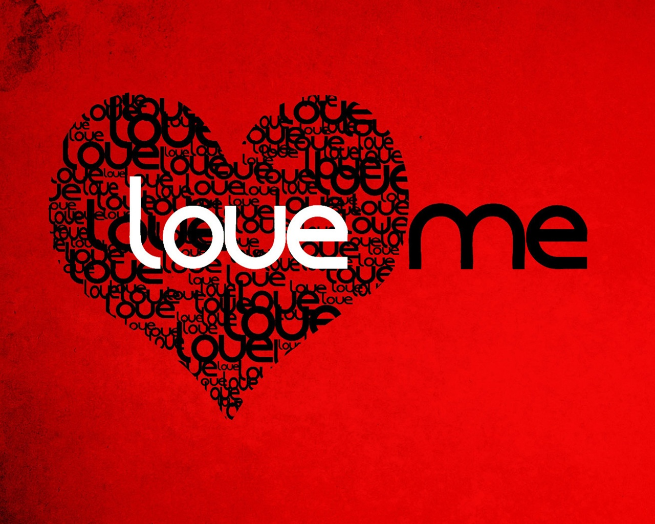 Love me wallpaper - 1280x1024