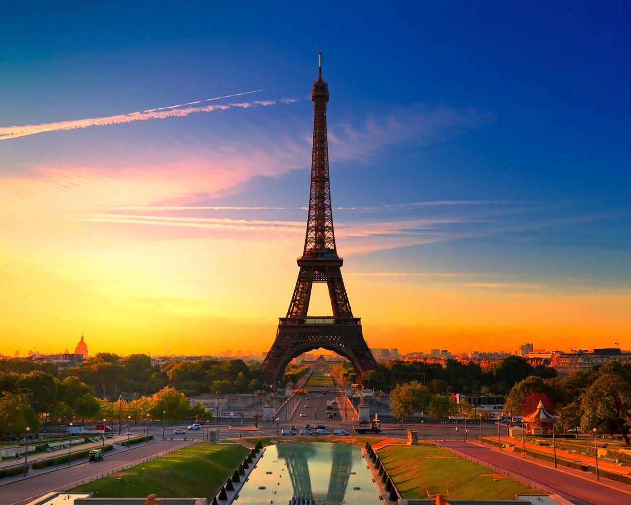 Париж франция эйфелева башня обои