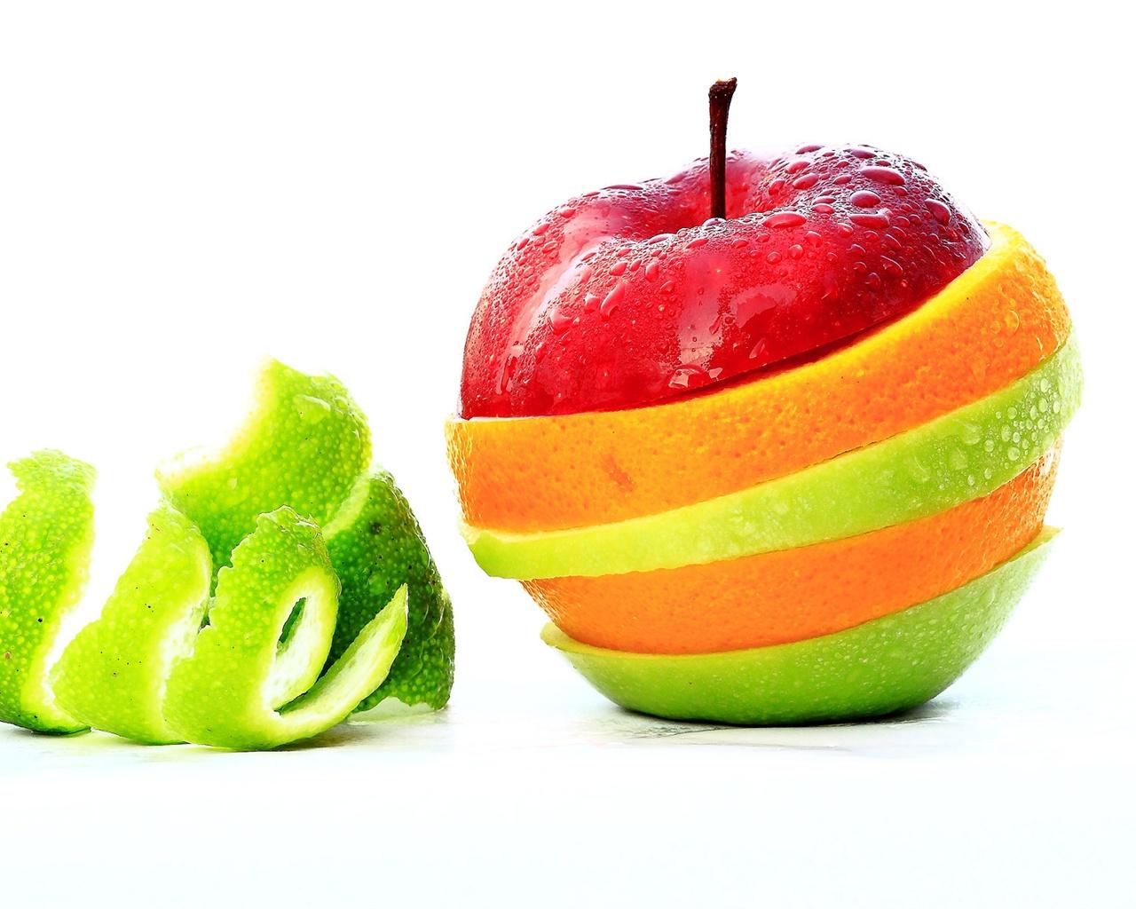 Fondos de pantalla Colorido de la manzana color de la piel 1920x1200 ...