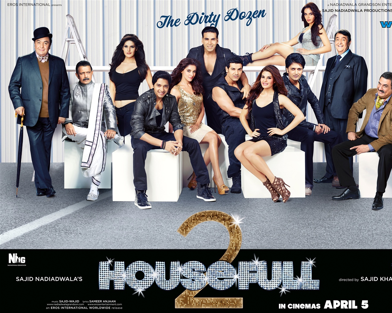 Housefull 2 HD wallpaper - 1280x1024