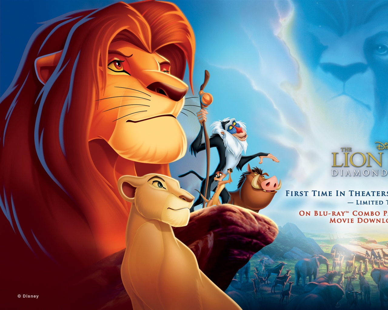 Disney movie The Lion King wallpaper - 1280x1024