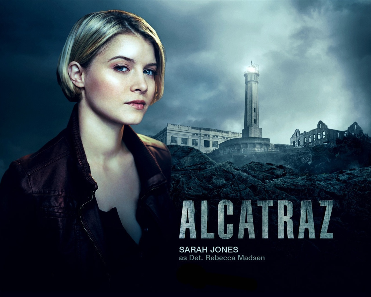Sarah Jones in Alcatraz wallpaper - 1280x1024