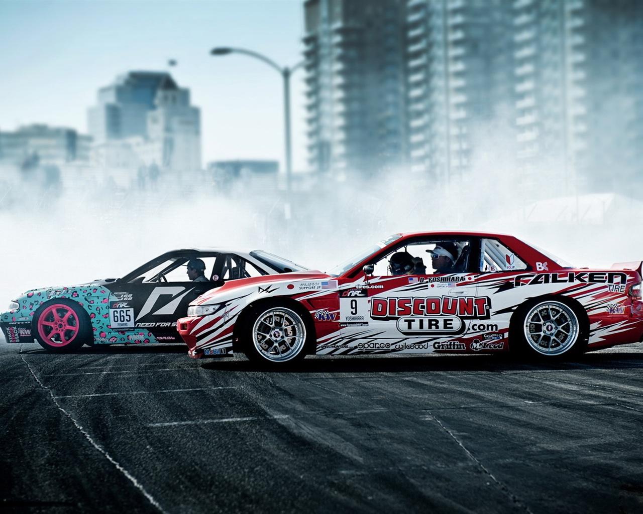 Smoke Drift Cars Sport 640x1136 Iphone 55s5cse Wallpaper