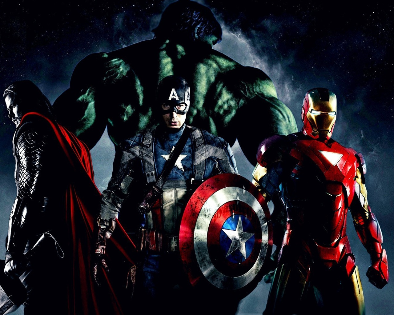 The Avengers 2012 movie wallpaper - 1280x1024
