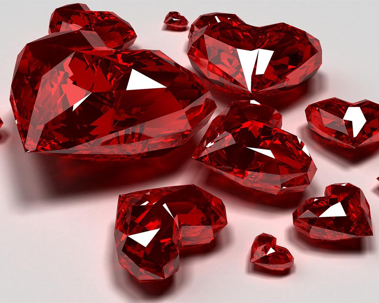 珠宝,红宝石特写 壁纸