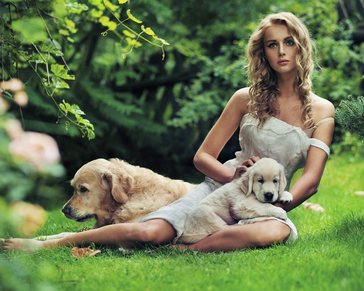 dogs are a girls -#main