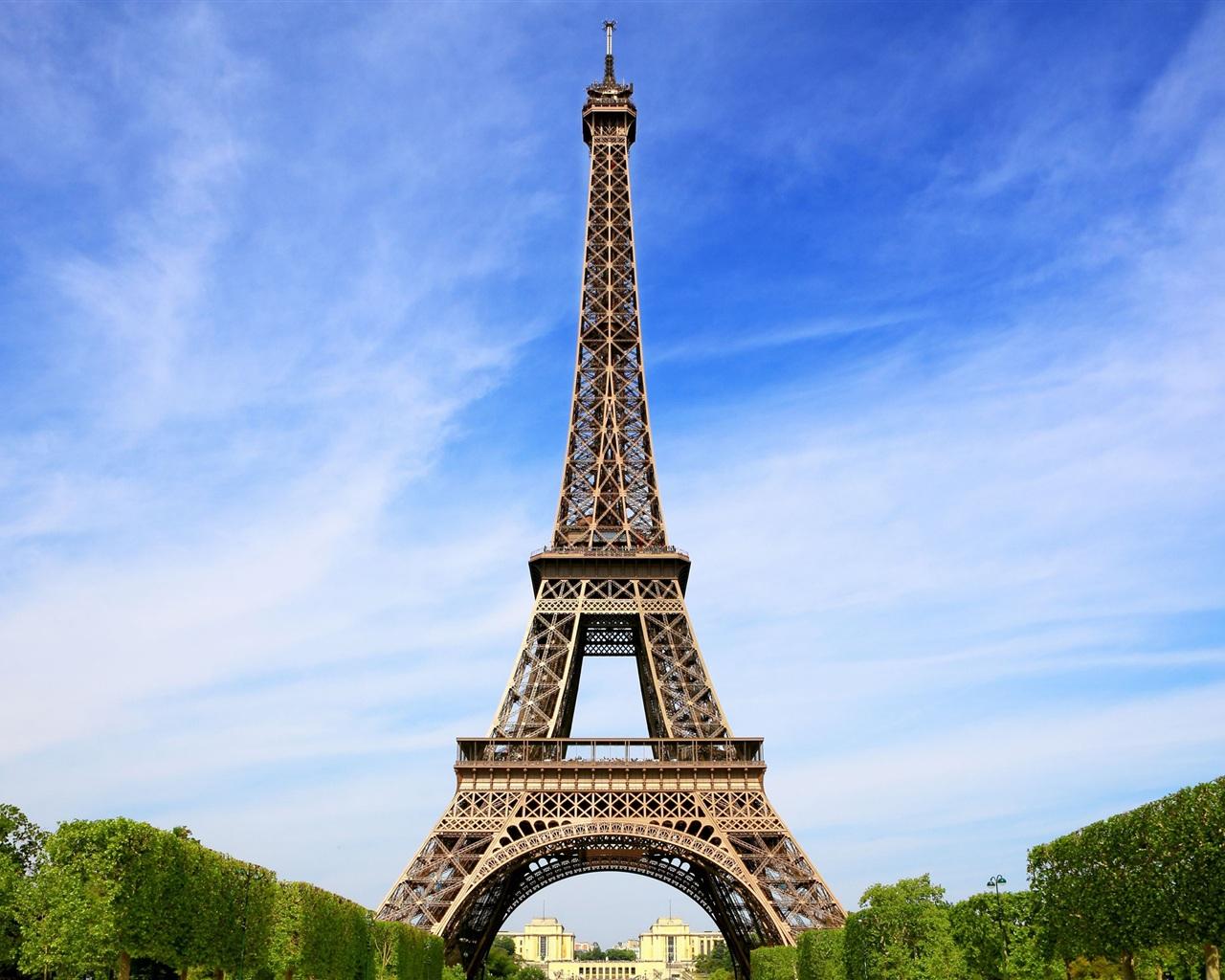 Hd wallpaper eiffel tower - 1280x1024 Ja Best