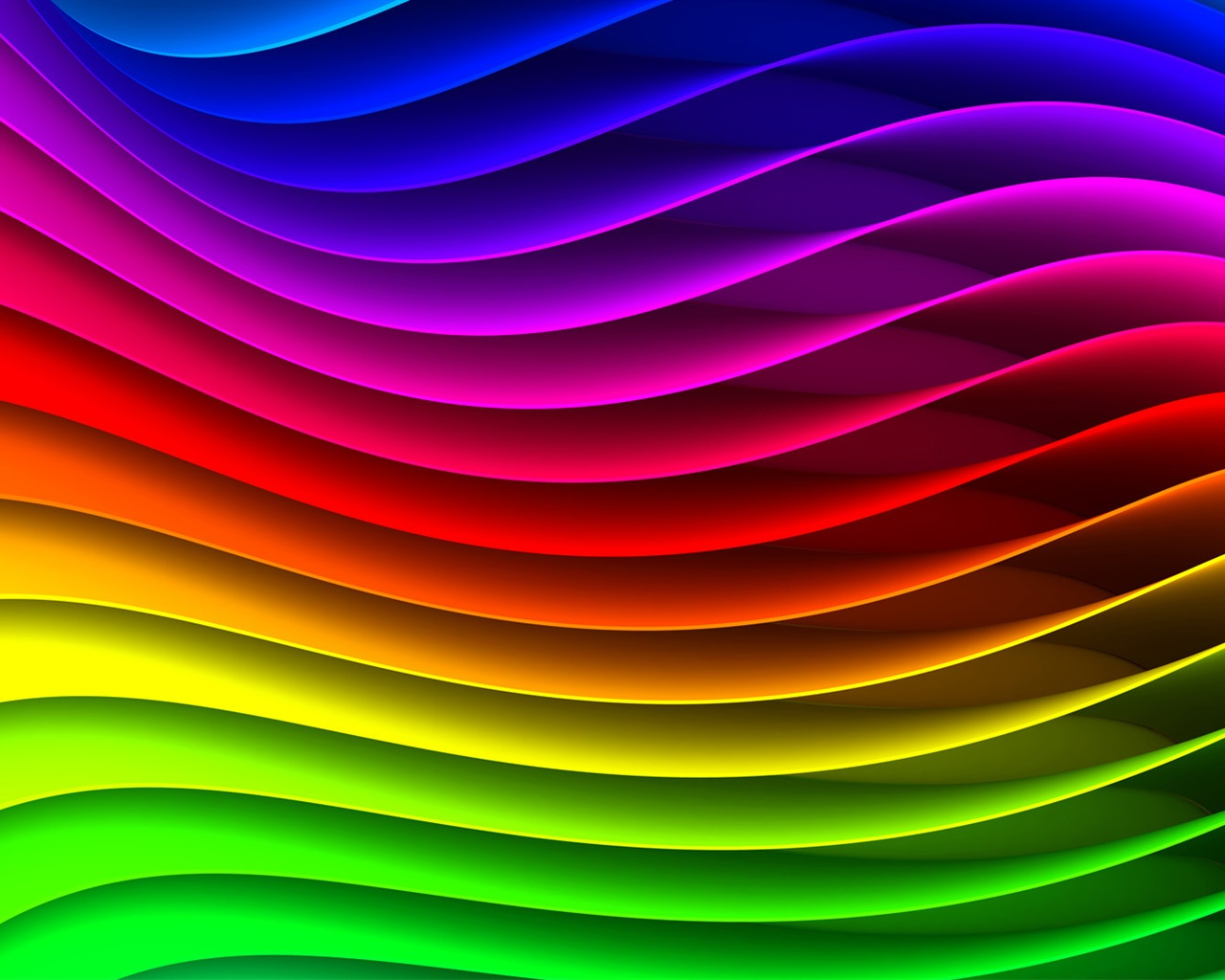La Forma De Onda Abstracto Con Rayas, Los Colores Del Arco